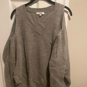 Ro & De Nordstrom Oversized Cold Shoulder Sweater